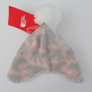 NWT The North Face Infant Baby Faroe Beanie Hat